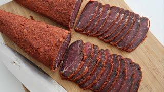 Cured Meat Recipe - Apukht - Basturma - Armenian Cuisine - Heghineh Cooking Show